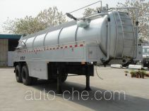 Fecal suction trailer
