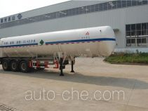 Sanli CGJ9400GDY03 cryogenic liquid tank semi-trailer