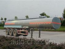 Sanli CGJ9400GHY chemical liquid tank trailer