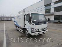 Haide CHD5070GQXE4 highway guardrail cleaner truck