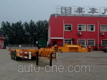 Zhaoxin CHQ9400TJZ container transport trailer
