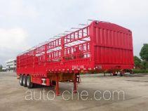 兆鑫牌CHQ9401CCY型仓栅式运输半挂车