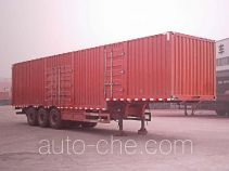 兆鑫牌CHQ9402XXY型厢式运输半挂车