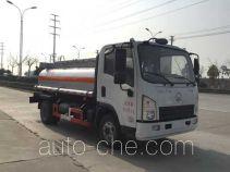 Chufei CLQ5040TGY5SX oilfield fluids tank truck