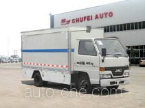 Chufei CLQ5040XWT4JX mobile stage van truck