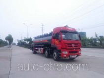 Chufei CLQ5250GFW4CA corrosive substance transport tank truck