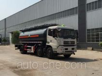 Chufei CLQ5250GFW4D corrosive substance transport tank truck