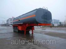 Chufei CLQ9400GFW corrosive materials transport tank trailer