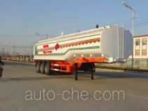 Chufei CLQ9400GHY chemical liquid tank trailer
