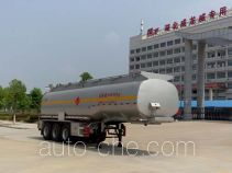 Chufei CLQ9400GRYB flammable liquid tank trailer