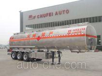 Chufei CLQ9400GYYA aluminium oil tank trailer