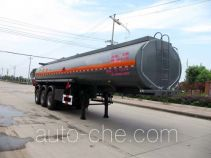 Chufei CLQ9401GRY flammable liquid tank trailer