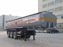 Chufei CLQ9401GRYC flammable liquid tank trailer
