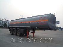 Chufei CLQ9404GRY flammable liquid tank trailer