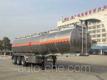 Chufei CLQ9404GYYBA aluminium oil tank trailer