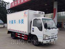 程力威牌CLW5040XLCQ5型冷藏车