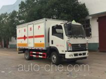 Chengliwei CLW5070XRQE5 flammable gas transport van truck