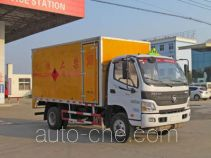 Chengliwei CLW5081XRQB4 flammable gas transport van truck