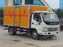Chengliwei CLW5082XRQB5 flammable gas transport van truck