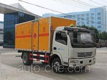 Chengliwei CLW5110XRQE5 flammable gas transport van truck