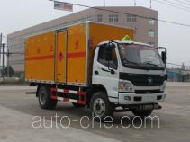 Chengliwei CLW5121XRQB4 flammable gas transport van truck