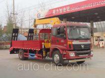 Chengliwei CLW5160JSQB4 truck mounted loader crane