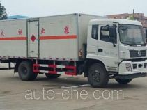 Chengliwei CLW5160XRQD5 flammable gas transport van truck