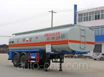 Chengliwei CLW9350GHY chemical liquid tank trailer