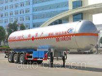Chengliwei CLW9390GYQ liquefied gas tank trailer