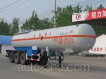 Chengliwei CLW9401GRY flammable liquid tank trailer