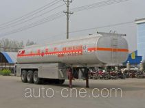Chengliwei CLW9402GHY chemical liquid tank trailer