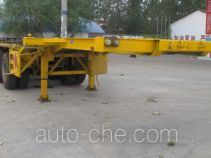 Chengliwei CLW9402TWY dangerous goods tank container skeletal trailer