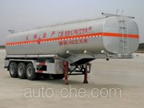 Chengliwei CLW9403GRY flammable liquid tank trailer