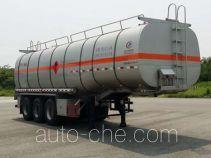 Chengliwei CLW9404GRYL flammable liquid aluminum tank trailer