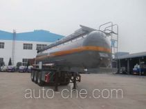 Chengliwei CLW9405GFW corrosive materials transport tank trailer