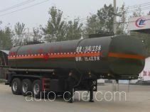 Chengliwei CLW9407GRY flammable liquid tank trailer