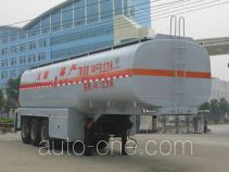 Chengliwei CLW9408GRY flammable liquid tank trailer