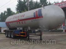 Chengliwei CLW9390GYQA liquefied gas tank trailer