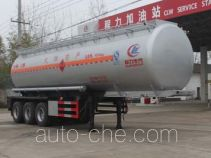 Chengliwei CLW9409GRY flammable liquid tank trailer