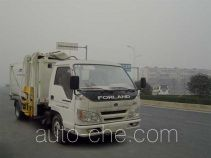 Lingyu CLY5050ZZZ side-loading garbage compactor truck