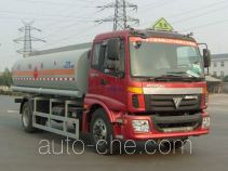 Lingyu CLY5160GHYE1 chemical liquid tank truck