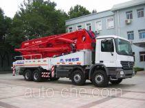 CIMC Lingyu CLY5310THB125-42 concrete pump truck