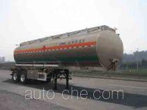 Lingyu CLY9290GYY aluminium oil tank trailer