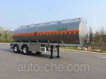 Lingyu CLY9300GYY aluminium oil tank trailer
