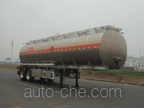 Lingyu CLY9341GYYB aluminium oil tank trailer