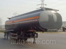 Lingyu CLY9350GRY flammable liquid tank trailer