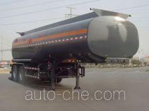 凌宇牌CLY9350GRYA型易燃液体罐式运输半挂车