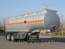 Lingyu CLY9350GYY oil tank trailer