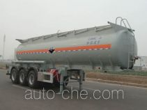 Lingyu CLY9400GFW corrosive materials transport tank trailer