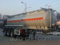凌宇牌CLY9400GFWA型腐蚀性物品罐式运输半挂车